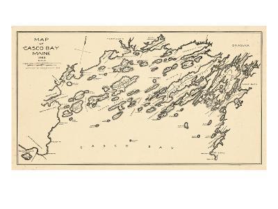 1924, Casco Bay, Maine, United States--Giclee Print