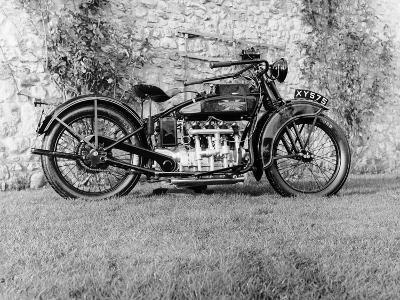 1924 Henderson Motobike--Photographic Print