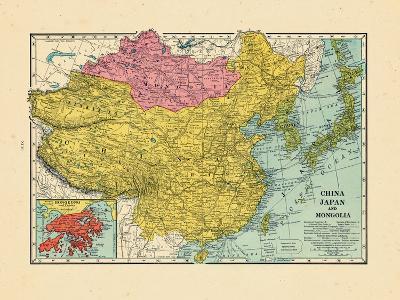 1925, China, Japan, Mongolia, North Korea, South Korea, Asia, China--Giclee Print