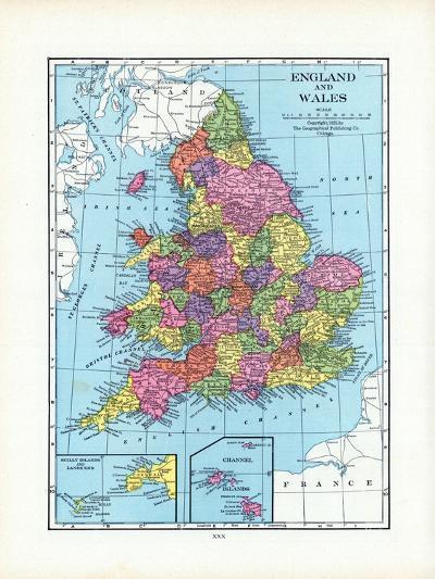 1925, United Kingdom, Europe, England and Wales--Giclee Print