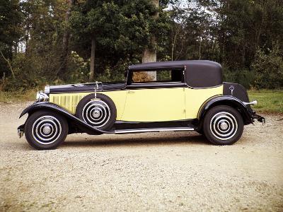 1928 Hispano-Suiza--Photographic Print