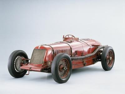 '1928 Maserati Tipo 26B/M 8C 2800 Grand Prix Two Seater Racing Car' Photographic Print | Art.com