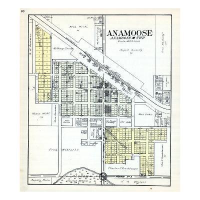 1929, Anamoose, North Dakota, United States--Giclee Print