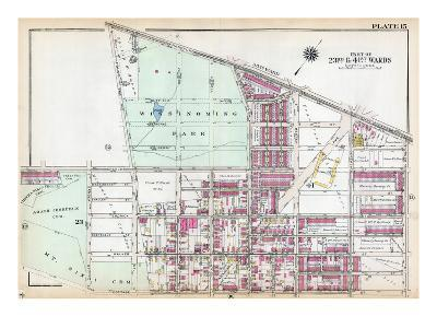1929, Wissinoming Park, Philadelphia, Yellow Jackets, Philadelphia Eagles, Pennsylvania, USa--Giclee Print