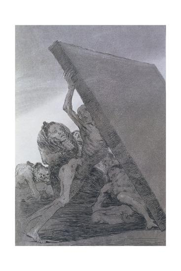193-0082159 and Still They Don't Go!, Plate 59 of 'Los Caprichos', 1799-Francisco de Goya-Giclee Print