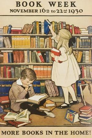 1930 Children's Book Council Book Week--Giclee Print