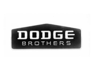 1930 Dodge Brothers Name Plate--Art Print