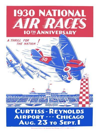 1930 National Air Races--Giclee Print