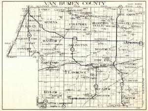 1930, Van Buren County, Geneva, Columbia, Bloomingdale, Pine Grove, Hartford, Keeler, Hamilton, Dec
