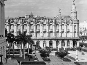 1930s-1940s the Great Theater of Havana Cuba