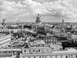1930s-1940s View from Sevilla Hotel of Capitol Building Skyline of Havana Cuba