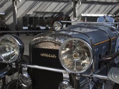 1930s-Era Amilcar Racing Car, Riga Motor Museum, Riga, Latvia-Walter Bibikow-Photographic Print