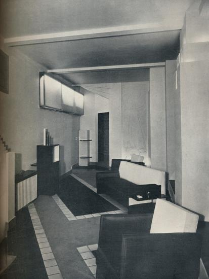 '1930s sitting room', 1930-Unknown-Photographic Print