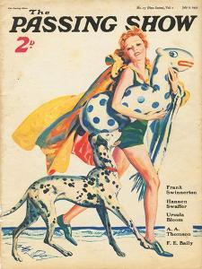 1930s UK The Passing Show Magazine Cover