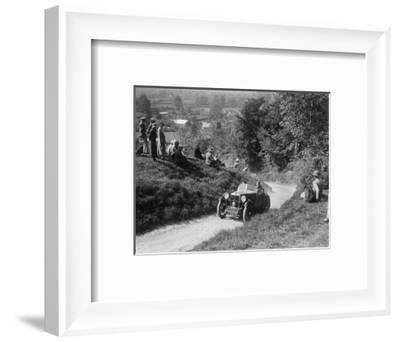 1931 MG M type taking part in a West Hants Light Car Club Trial, 1930s-Bill Brunell-Framed Photographic Print