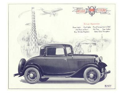 1932 Ford Deluxe Coupe--Art Print