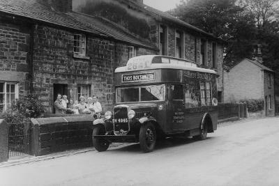 1933 Bedford 2 Ton Wlg Truck Used as a Travelling Shop, C1933--Photographic Print