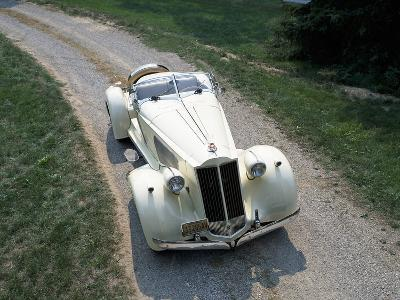 1936 Packard V12--Photographic Print