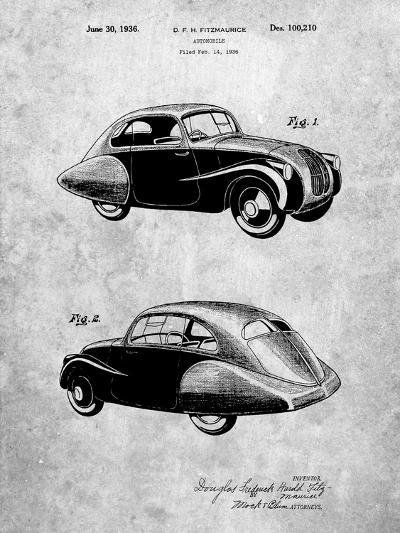 1936 Tatra Concept Patent-Cole Borders-Art Print