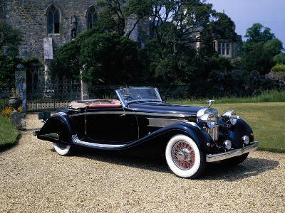 1937 Hispano-Suiza K6--Photographic Print