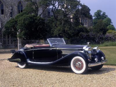 1937 Hispano-Suiza K6--Photographic Print