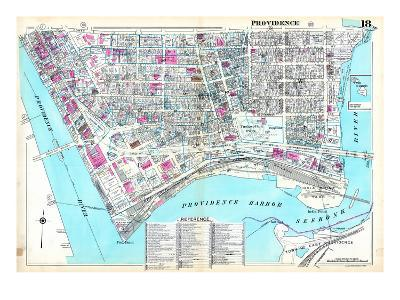 1937, Providence Plate 018, Rhode Island, United States--Giclee Print