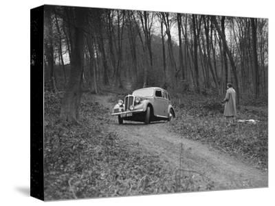1937 Standard Twelve at the Standard Car Owners Club Southern Counties Trial, 1938-Bill Brunell-Stretched Canvas Print