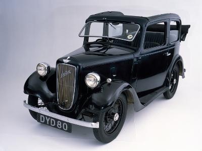 1938 Austin 7 Pearl Cabriolet Car--Photographic Print