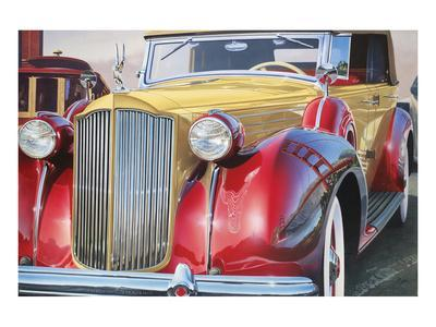 1938 Packard Phaeton Body, San Francisco-Graham Reynolds-Art Print