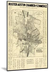1939, Austin Chamber of Commerce, Texas, United States