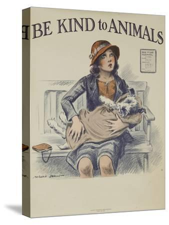 1939 Be Kind to Animals, American Civics Poster, Veterinary Office