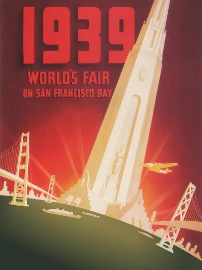1939 World's Fair on San Francisco Bay- Shawel, Nyeland & Seavy-Giclee Print