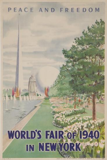 1940 New York World's Fair Poster--Giclee Print