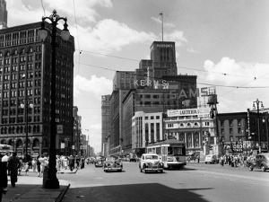 1940s Cadillac Square Detroit, Michigan