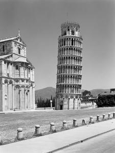 1940s Leaning Tower Pisa Tuscany, Italy