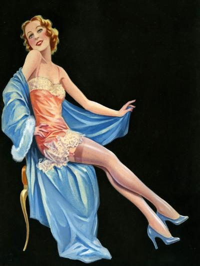1940s UK Pin-Ups Poster--Giclee Print
