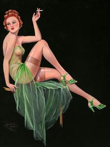1940s UK Pin-Ups Poster