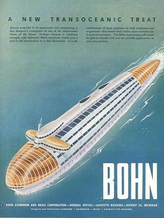1940s USA Bohn Magazine Advertisement