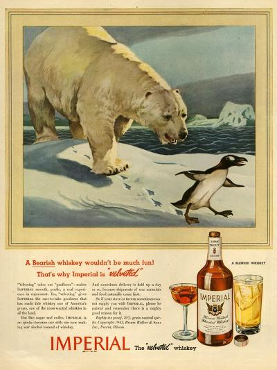 1940s USA Imperial Magazine Advertisement--Giclee Print