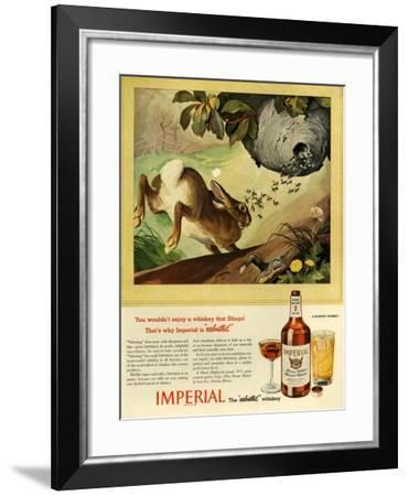 1940s USA Imperial Magazine Advertisement--Framed Giclee Print