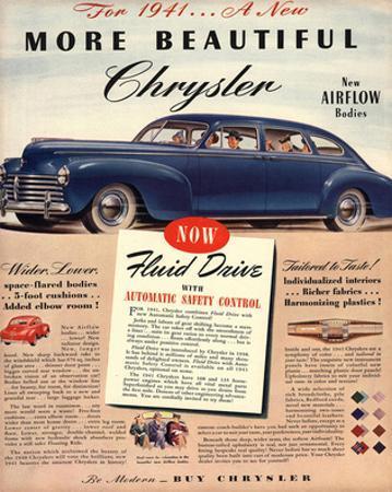 1941 New Beautiful Chrysler