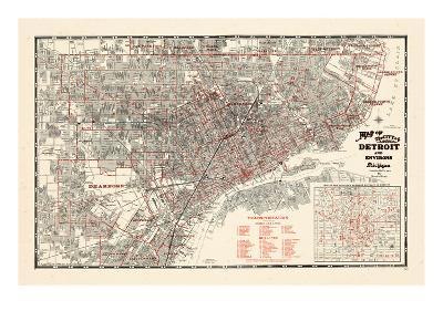 1943, Detroit, Michigan--Giclee Print
