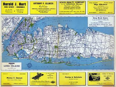1946, Long Island Plate 1, New York, United States--Giclee Print