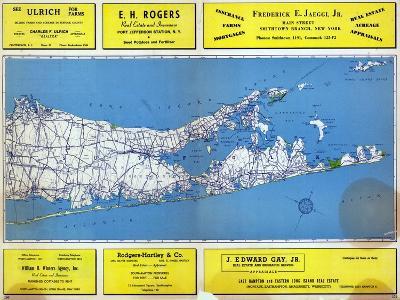 1946, Long Island Plate 2, New York, United States--Giclee Print
