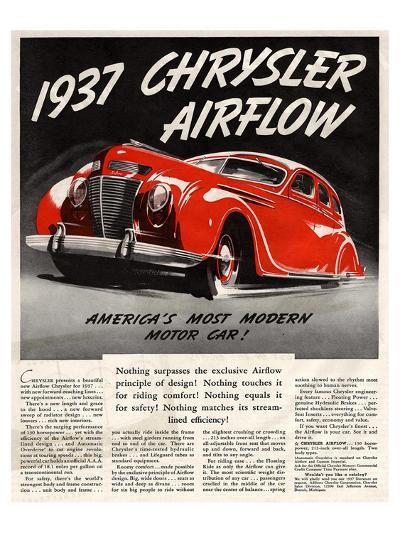 1947 Chrysler Airflow--Art Print
