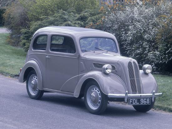 1949 Ford Anglia-Unknown-Photographic Print