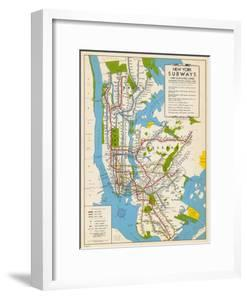 Beautiful Maps of the United States framed-posters artwork for sale on
