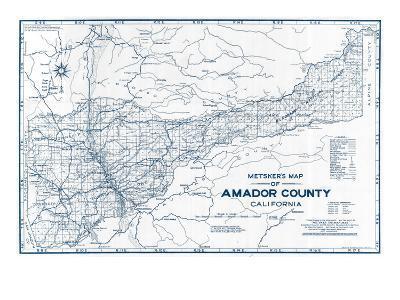 1950, Amador County 1950c, California, United States--Giclee Print