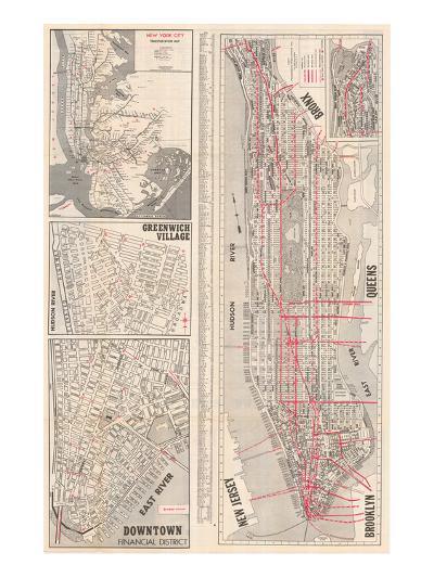 1950, New York, United States--Giclee Print