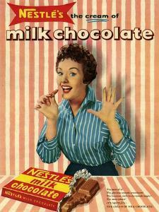 1950s UK Nestle's Magazine Advertisement